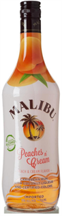 Malibu Rum Peaches N' Cream 750ml